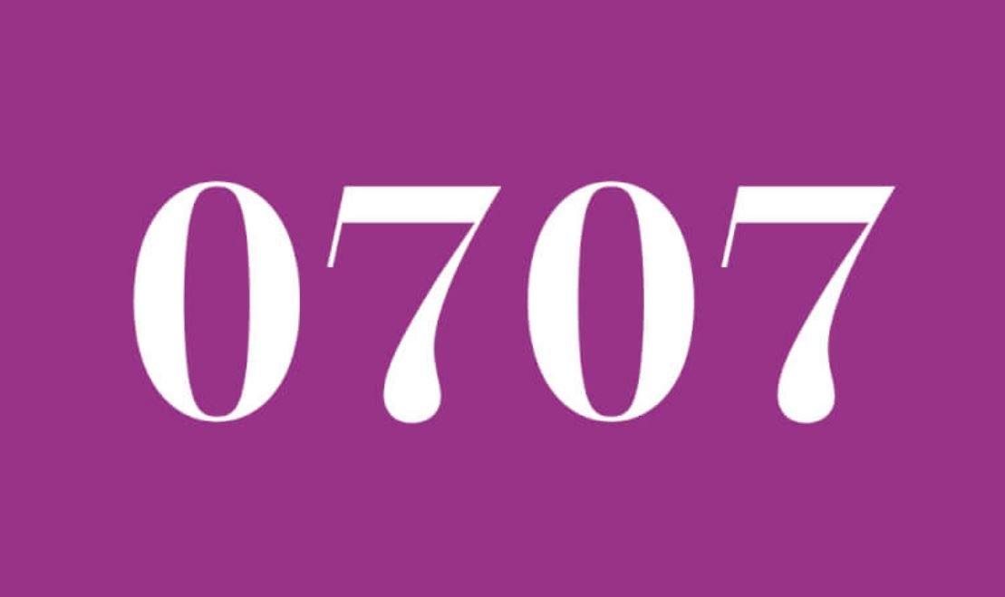 Numerologie 0707