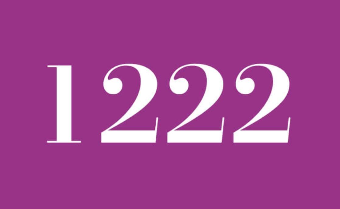 Numerologie 1222