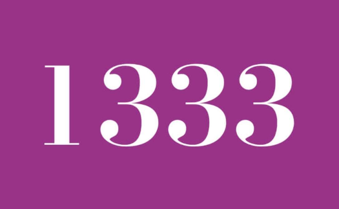 Numerologie 1333
