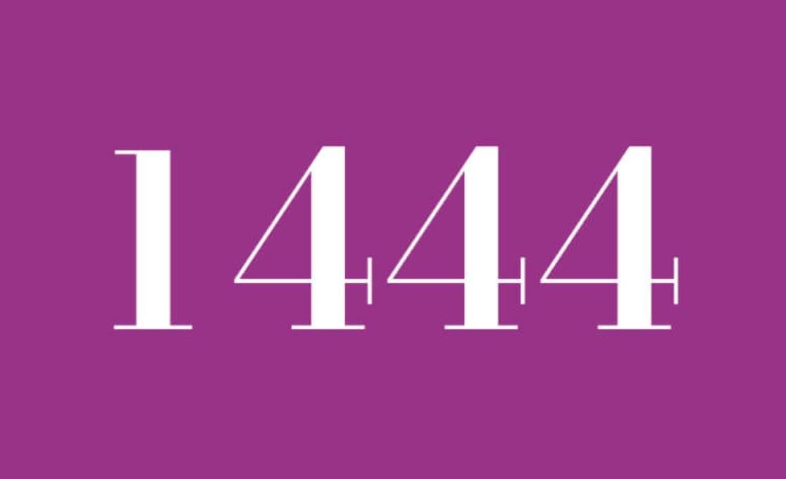 Numerologie 1444