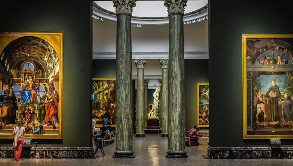 Dromen over kunstgalerie