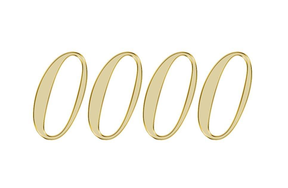 Numerologie 0000